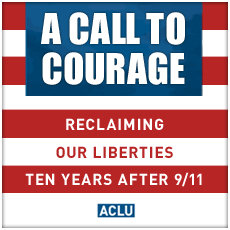 ACLU - Call to Courage image
