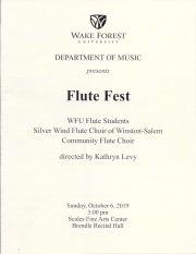 2019 Flute Fest Program p1