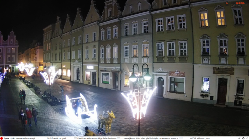 opole poland plaza via webcam new year's dyy 2020