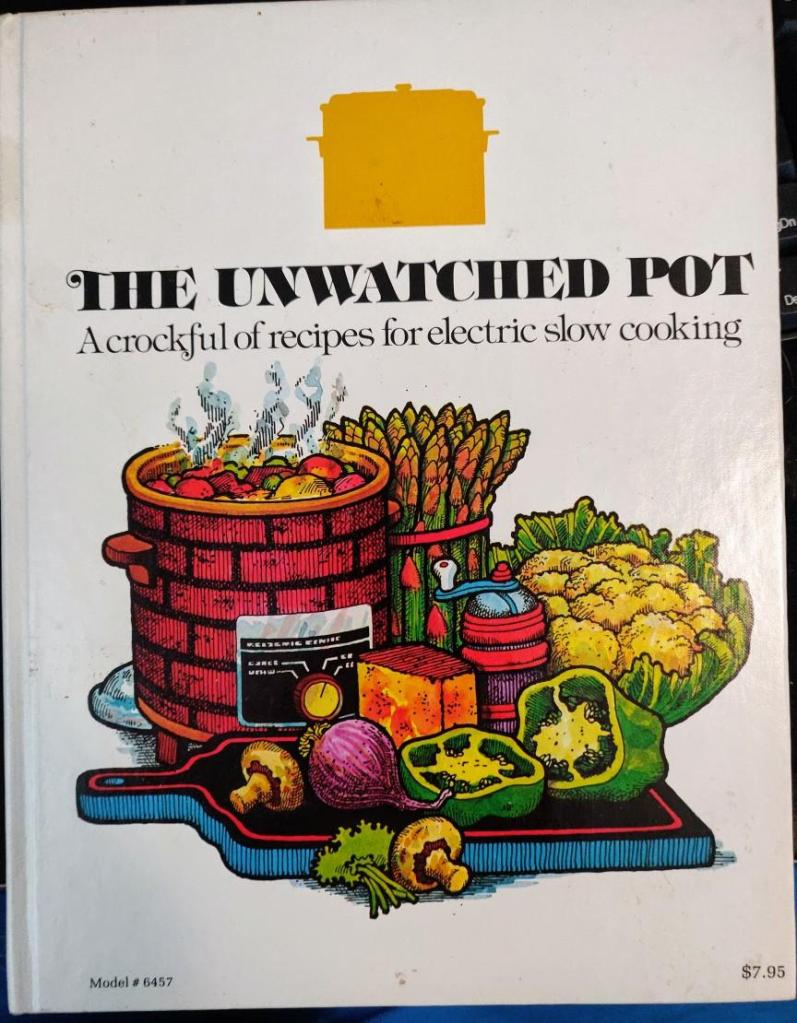 The Unwatched Pot cookbook cover.